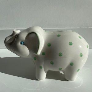 NWOT Tiffany Elephant Piggy Bank